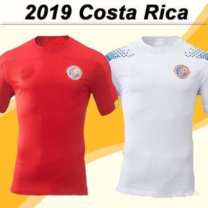 2019 Costa Rica National Team Mens Soccer Jerseys New Bryan Navas K. Waston Home Football Shirts R. Wallace M. URENA Uniformes de manga corta