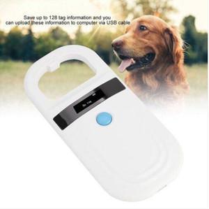 المبيعات الساخنة! RFID 134.2 كيلو هرتز ISO FDX-B الحيوان القط الكلب رقاقة الاعتراف القارئ المحمولة ميني الحيوانات الأليفة تتبع الباحث يده الماسح