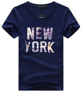 Mens Designert shirts Kleidung Letter Print 2020 neuer Sommer Einfache Street Wear-Mode-Männer Baumwollshirt beiläufige T-Stück plus Größe 5XL