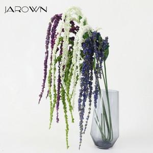 Planta verde JAROWN Artificial Amaranthus Flor Artificial Para Casamento Casa DIY Decoração Foam Flowers CJ191206