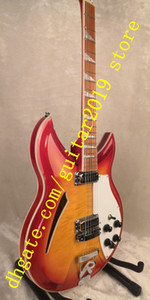 12-string guitar Rick 381model Electric Guitar,Double sided Flamed MapleTop rosewood fingerboard has the gloss of varnish on i