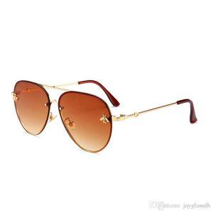 Brand Design Sunglasses women men Brand designer Mirror Good Quality Fashion metal Oversized sunglasses vintage female male UV400DR35628