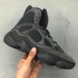 2020 Kanye West 500 High Top Slate Os Blanc Pierre 500 Désert Rat Noir Femmes Hommes Sports Haut de Sport en plein air Chaussures US11