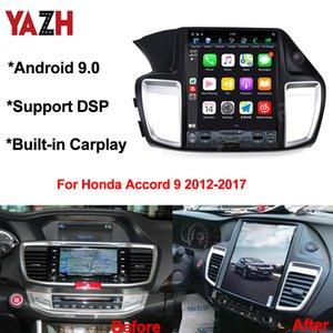 Android 9.0 Car DVD GPS Navigation For Honda Accord 9 2012-2017 With 12.1 Inch IPS Display DSP Carplay Bluetooth 5.0 Auto Radio
