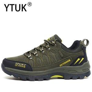 YTUK Hommes Randonnée étanche Chaussures antidérapants résistant à l'usure des femmes Alpinisme Chaussures randonnée en plein air Bottes Trekking Chaussures unisexe