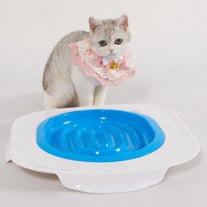 시스템 새끼 고양이 트레이너 패드 쓰레기 박스 대체 동작 에이즈 고양이 화장실 사라지는 트레이너 편리한 트레이닝 도구