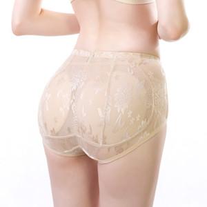 Womens Lingerie Sexy douce Hip Up rembourré Butt Enhancer Shaper culottes sans couture souple Sous-vêtements Drop Shipping