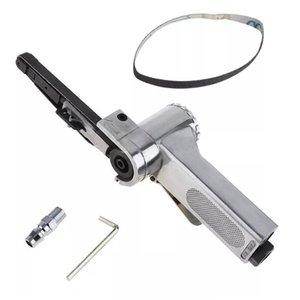 "3 8"" Hot Sale Practical 10 X 330mm 16000rmp Air Belt Sander Pneumatic Machine for Grinding Polishing Pneumatic Tools"