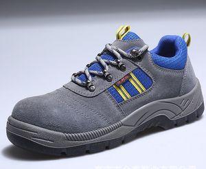Designer-Shoes Aço Toe Cap botas de protecção Homens Duplas Waterproof antiderrapante Sneakers Outdoor