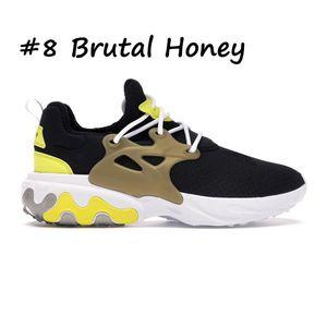 Presto HACES triples fantasma negro rojo zapatillas de deporte de las mujeres de Dharma de hombres, deportiva transpirable zapatos corredores deportes de los hombres desnudos voltios