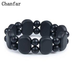 Wrap s 100% Quality Natural Black Bian Stone Bracelet Carve Black Bianshi Bracelet Jewelry For Women and Men Bianshi Bracelet