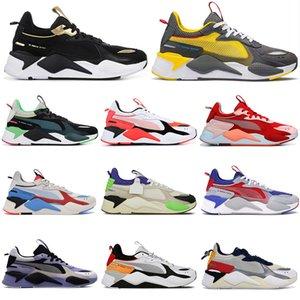 Hot luxe Rs-x Jouets Chaussures de course Réinvention de presse Hommes Femmes Optimus Prime système Hommes Baskets Designer Chaussures de sport de sport