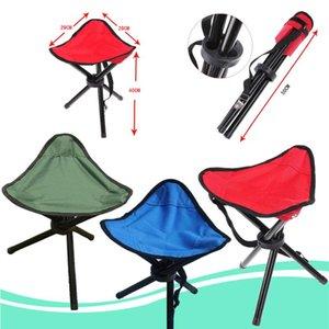 Открытый складной стул Портативный трехногий стул Открытый рыболовный стул GMN