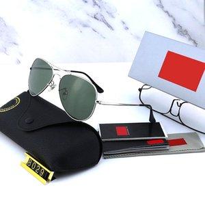 Marca Mens Sunglasses Piloto 5 Óculos de Sol Óculos de Sol Polarizado Vidros Clássicos 2020 Dirigindo Nova Lente Fashion Color Designer UV-Resistente ao IPWR