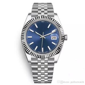 2020 hot venda 41mm sólido movimento de fecho automático de aço inoxidável 2813 Relógio Mecânico Homens Big Data presidente desinger Mens Relógios
