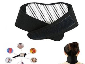 Health Care Self Heating Tourmaline Magnetic Neck Heat Therapy Support Belt Wrap Brace Massager Slim Equipment gift