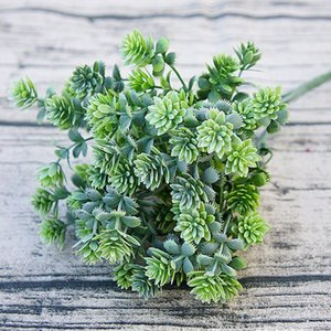 Fake Succulent Ornament Home Decor Office Landscape Fall Leaves Party Wedding Artificial Plant Garden DIY Eco-friendly Flower