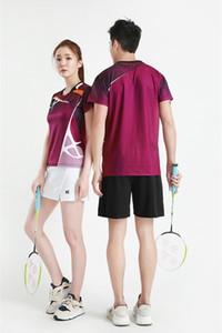 Spor Golf Badminton Pingpong Running için Badminton Giyim Setleri Spor Seti Spor Suit Erkekler ve Kadınlar Tenis Skort