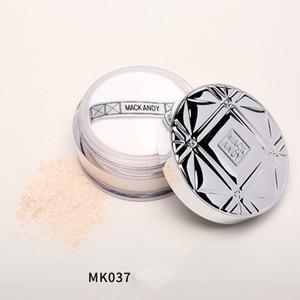 Vendite calde! Trucco Loose Powder Bianco Naturale Ciliegio Polvere Illuminante 24g Concealer Riparazione trucco Powder Puff Comes With S0502