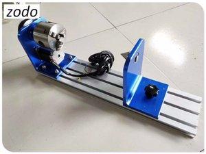 ZODO Laser machine outil rotatif et irrégulière rotative pour la gravure au laser CO2 et machine de découpe