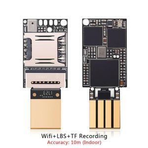 En küçük Zx618 PCBA Wifi Lbs Gsm Tracker Konumlandırma Tf Kart Ses Kayıt Kapalı Accuarcy 10m Mini 20x13mm Locator GPS