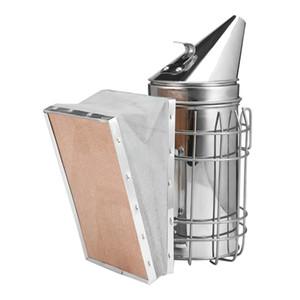 Strumento per apicoltura in acciaio inossidabile 5 pezzi con spazzola per raschietto fumatore per alveare