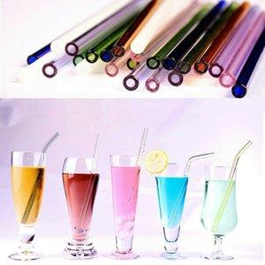 14.5cm 18cm Set de nettoyage Glass Straws 20cm Brush Brown Wedday Party Boire Pipette Dribking Boire Verre Réutilisable Free Shipp Sudd