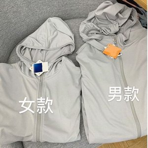 Lovers' summer UV-proof breathable short long-sleeved cycling thin Bicycle sunscreen Clothes sunscreen clothes coat 030v66