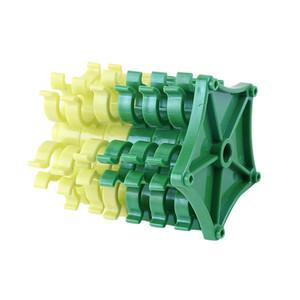 Tenedor de la bobina del hilo de coser Clips de la abrazadera Collares de la bobina para el bordado Herramientas de costura Accesorio