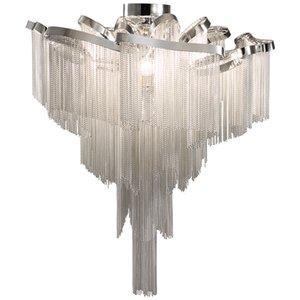 Moderno Cadena borlas de la lámpara de la luz de techo colgante Lámpara corriente del accesorio ligero B315