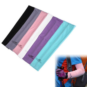 Hicool Arm Sleeve Защита от солнца UV Protector Летние виды спорта Велоспорт Прохладный Открытый Охлаждающий руку рукав митенки 60pcs OOA1874