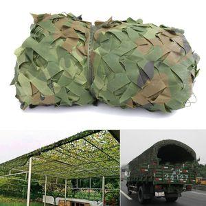 1.5X10 m Floresta De Folhas Camuflagem Net Sun Shelter Exército Camo Caça Camp Cover Net