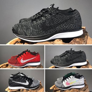 2020 Top Quality Wholesale Men Women Zoom Mariah Racer Trainer Chukka Black Red Blue Grey Lightweight Breathable Walking Shoes 36-45 S41
