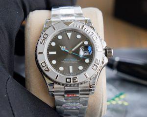 KR fabbrica uomo macchina movimento 2824 orologio 40MM904L soddisfacente acciaio automatico antigraffio cristallo blu display luminoso