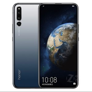 "Más reciente Original Huawei Honor magic2 4G LTE teléfono móvil Kirin 980 Octa Core 6GB / 8GB RAM 128GB / 512GB ROM Android 6.39 ""2K 2340 * 1080 24MP"