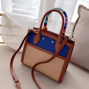 نساء حقيبة يد مصممات جدد ذات جودة عالية حقيبة كتف سيدة الأوشحة الحريرية Cfy20042244