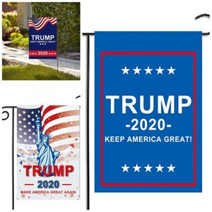 2020 US General Vote Garden Banner President Trump Flag Colourful Election Flags Decorative Courtyard Party Supplies New Arrival 5 5mxa D2