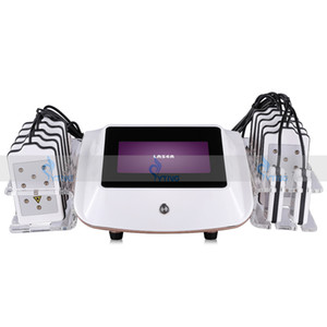 İnvaziv Olmayan Taşınabilir Lipo Lazer Makinesi 650nm 14 Pedler Lipolaser Zayıflama Yağ Yakma Kilo Kaybı Liposuction Selülit Temizleme Ekipmanları
