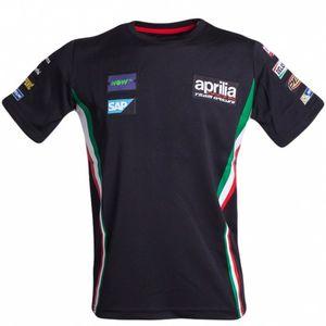 MotoGP Jerseys Motocross t shirt in discesa Dirt Bike Felpa ATV maglie Aprilia Moto Squadra Felpa Quick Dry J