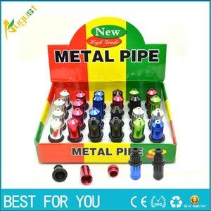 New hot Funky Metal Pipe Smoking Pipe GT-1124 gift for men click n vape sneak a toke