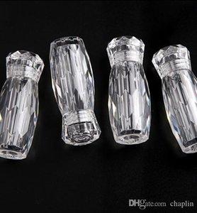 5ML 5G tarro vacío Acrílico contenedor de almacenamiento con tapa de rosca Tapas para Beads, arte del clavo, perlas de caviar, Glitter, Cosmética Crema de viajes
