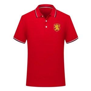 мужчины сборная Болгарии футбол Поло рубашка футбол с коротким рукавом поло рубашка летняя мода обучение рубашки поло футбол Джерси мужские Поло