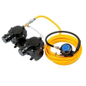 DP70B 160 w bomba de compressor de mergulho para Terceiro Pulmão Serface Cachimbo de Água Sistema de Mergulho com Mangueira e Regulador