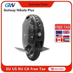 """2020 Gotway Nikola più 17"""" Self motorino elettrico 100V 1230WH / 1800WH / 1845WH batteria 2000W motore Monociclo Skateboard"""