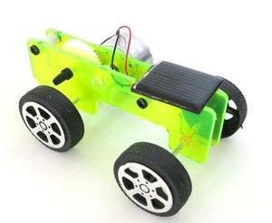 태양 광 장난감 자동차 모델 액세서리 창조적 인 자동차 모델 장난감 DIY 기술 작은 발명 작은 생산 장난감