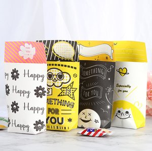2019 Cute cartoon candy Packaging Gift Box Chocolate Cookies Candy Cake Gift Box Wedding Festival Party Candy packaging supplies
