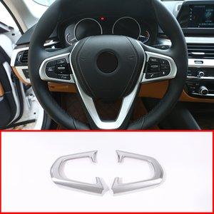 NUOVO!! ABS Steering Wheel Button Decorative Frame Trim Per Serie 5 528li 530li Accessori auto 2018-2019