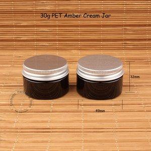 Bouteille vide Qualité 30g High Plastic Cream Femme Jar Conteneur Petite Cosmétique 30pcs / Lot Gram Rechargeable 30 Portable Travel VPRNX