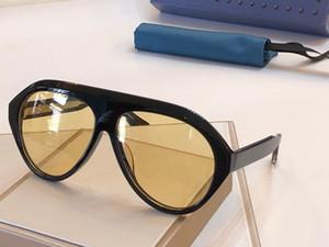 0479s Mens ve Kadınlar için Son Güneş Gözlüğü Basit Popüler Gözlük Moda Çerçeve Avant-Garde Kişilik Eğilim Açık Stil Sıcak Satış 0479