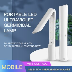 UVC disinfector Portable Handheld Lamp UV Sterilizer Disinfection Lamp Folding Ultraviolet Germicidal Light Travel household UV lights